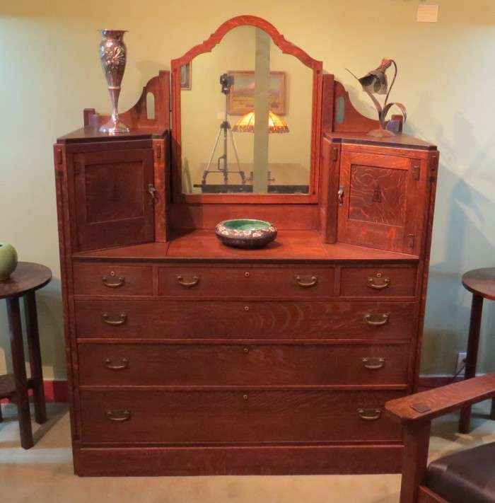 Limbert Furniture Co Ebon Oak Dresser California
