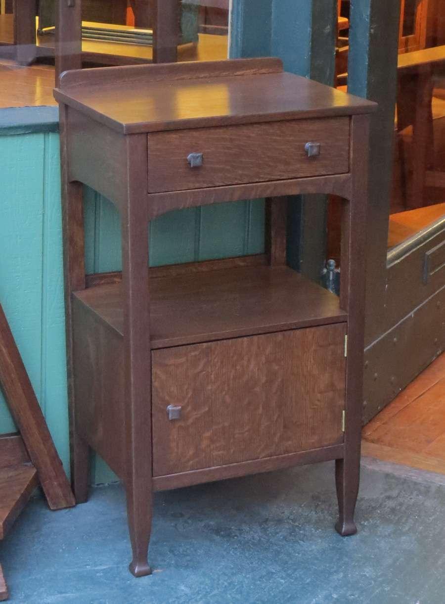 Grand Rapids Furniture Co Nightstand California Historical Design