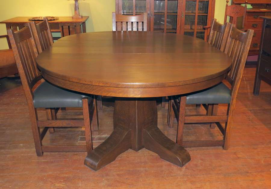 Gustav Stickley Dining Table 54 Quot California Historical