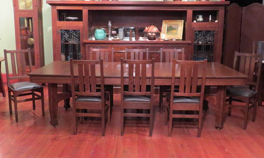 Gustav Stickley Dining Chairs