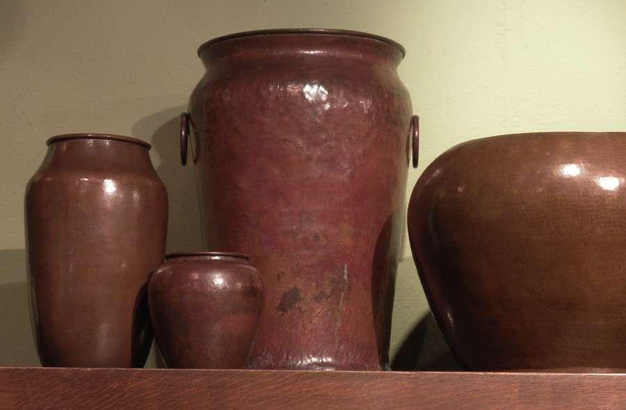 Dirk van Erp DArcy Gaw Vases