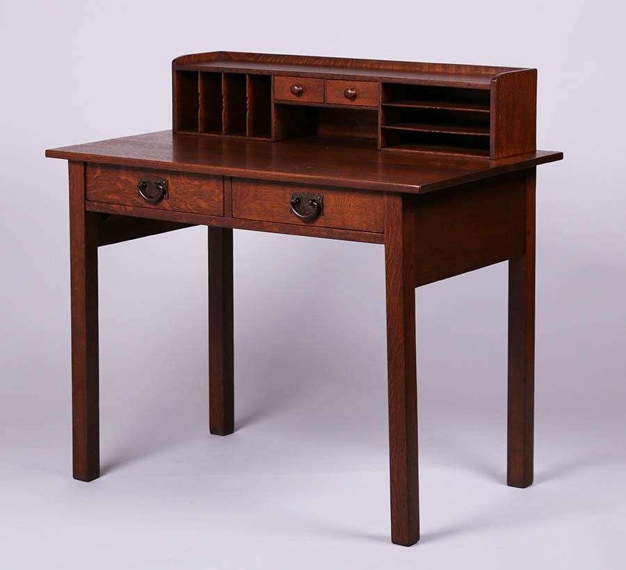 gustav stickley desk 3