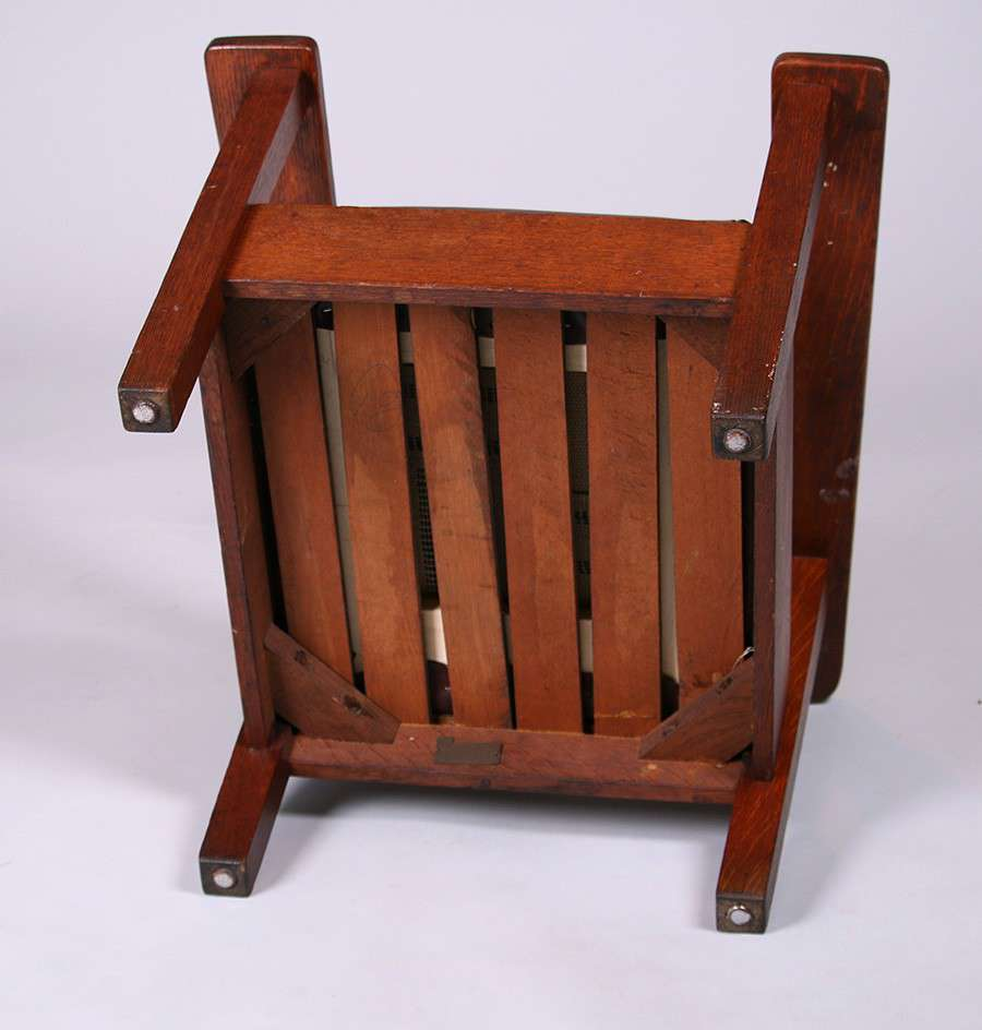Mary Morris Chair Aerobics: Stickley Brothers Child's Morris Chair (Yes, It's Small