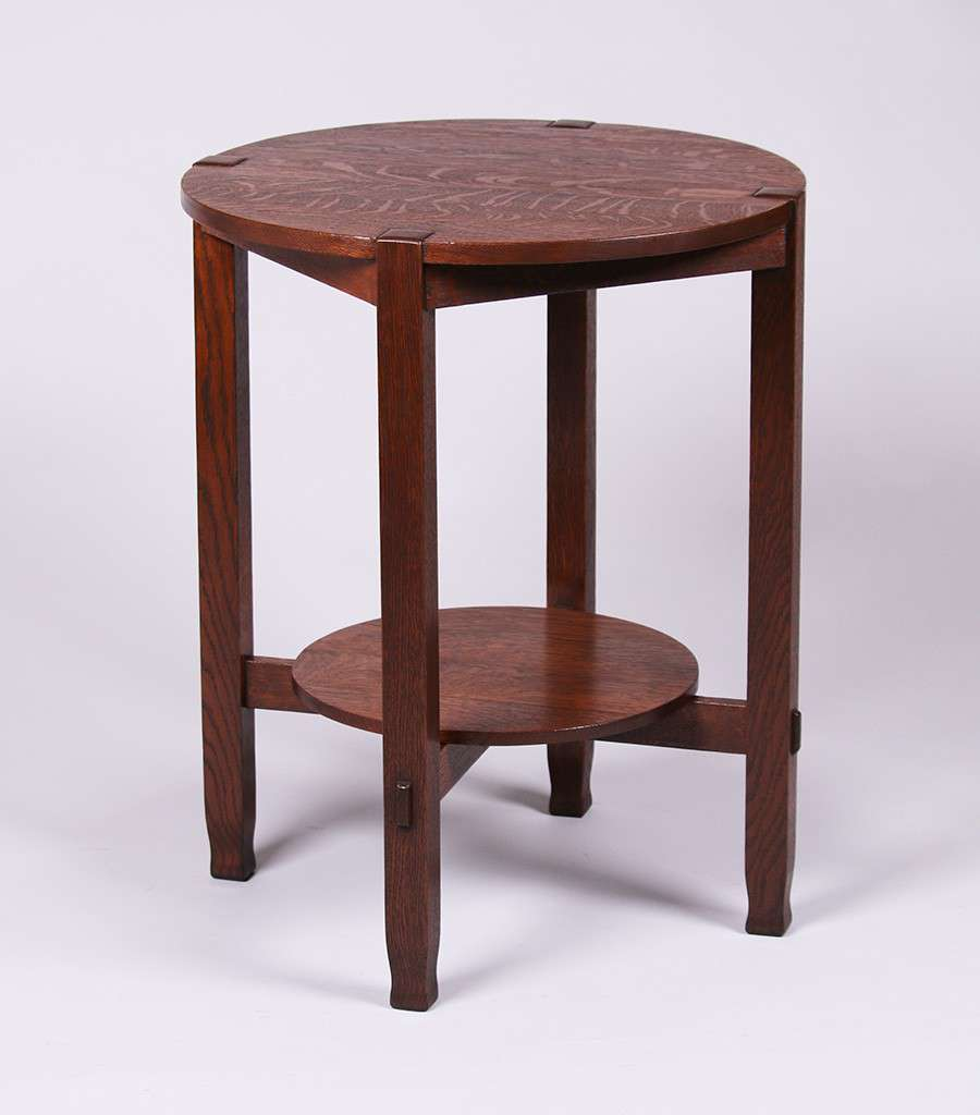 Stickley Brothers Lamp Table California Historical Design