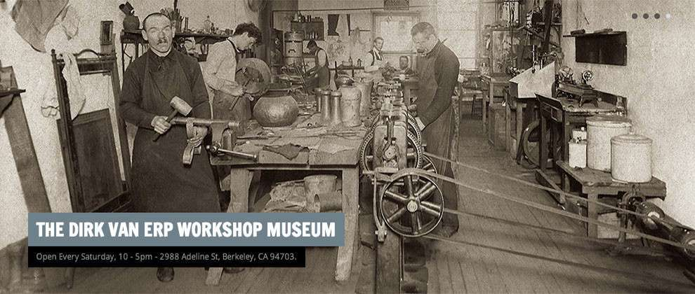 dirk van erp museum workshop