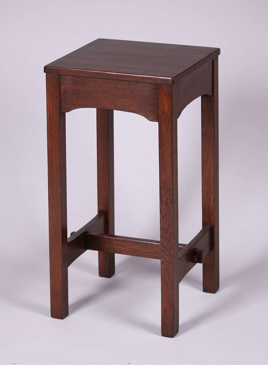 Early Gustav Stickley Plant Stand C1902 California Historical Design