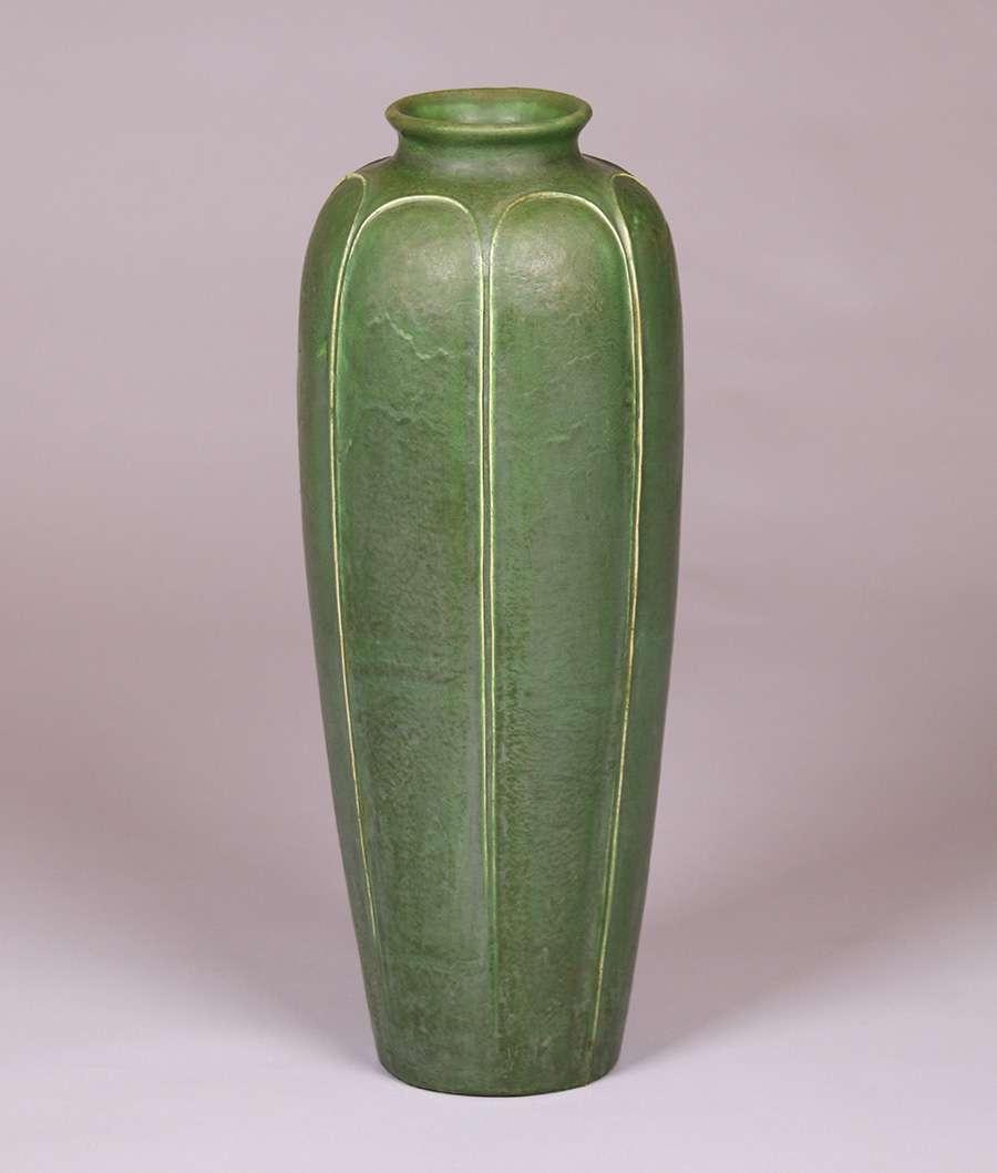 Grueby pottery monumental grueby floor vase reviewsmspy