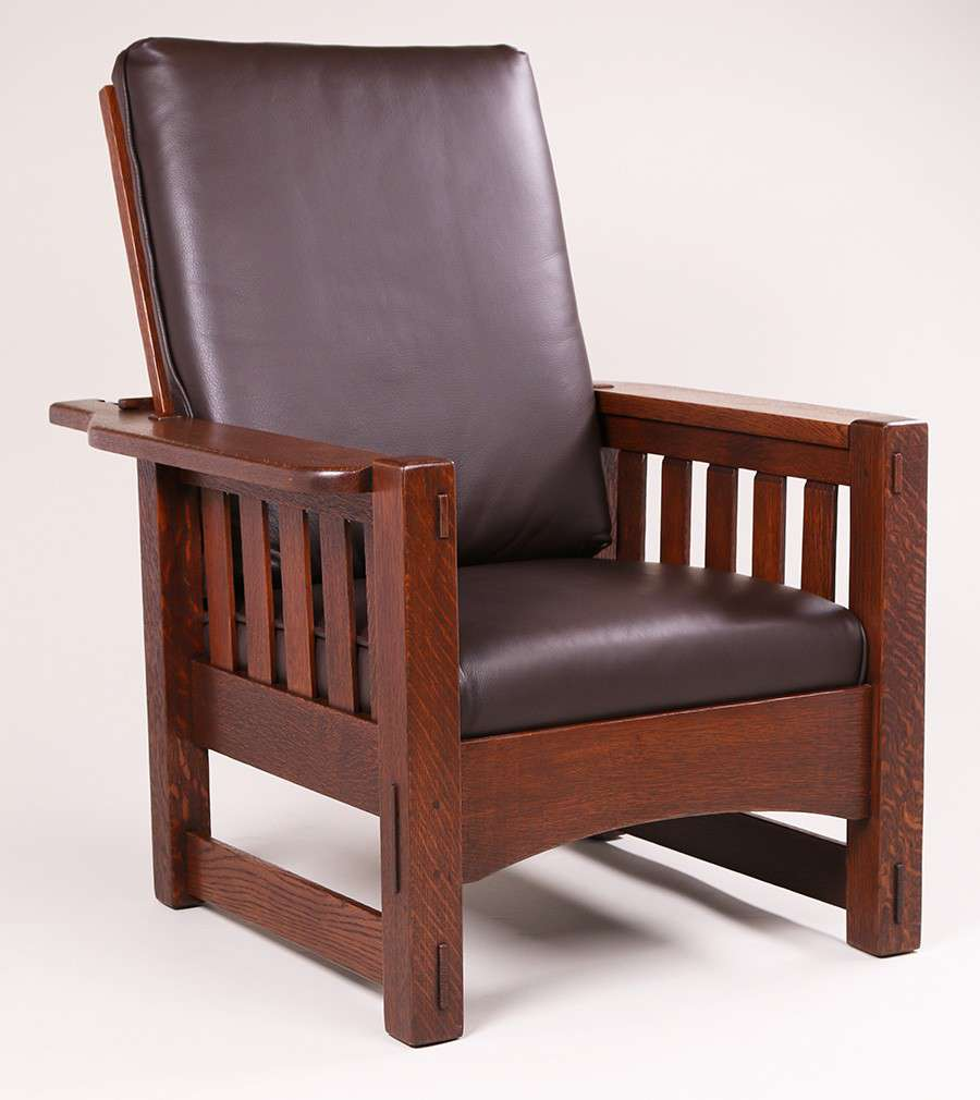 Mary Morris Chair Aerobics: Harden Furn Co Slatted Morris Chair