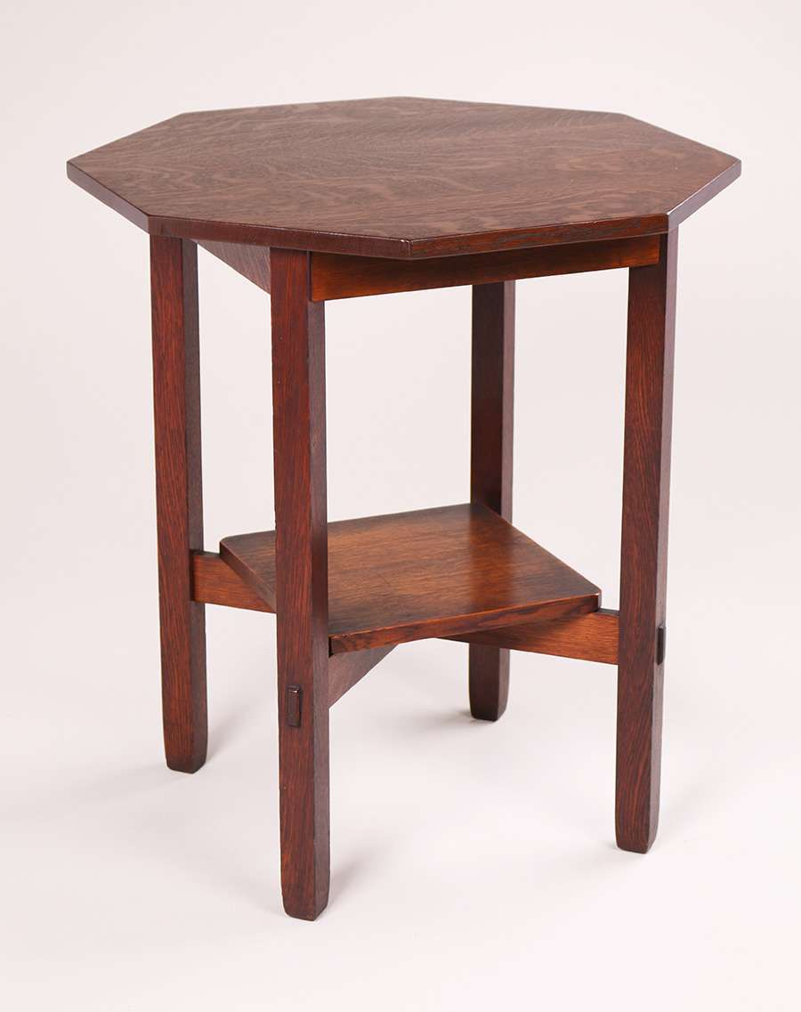 Stickley Brothers Octagonal Lamp Table California