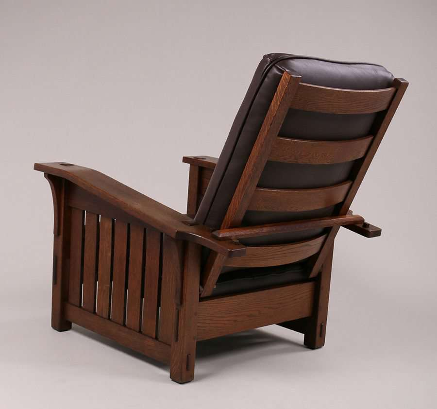Mary Morris Chair Aerobics: L&JG Stickley Bentarm Morris Chair