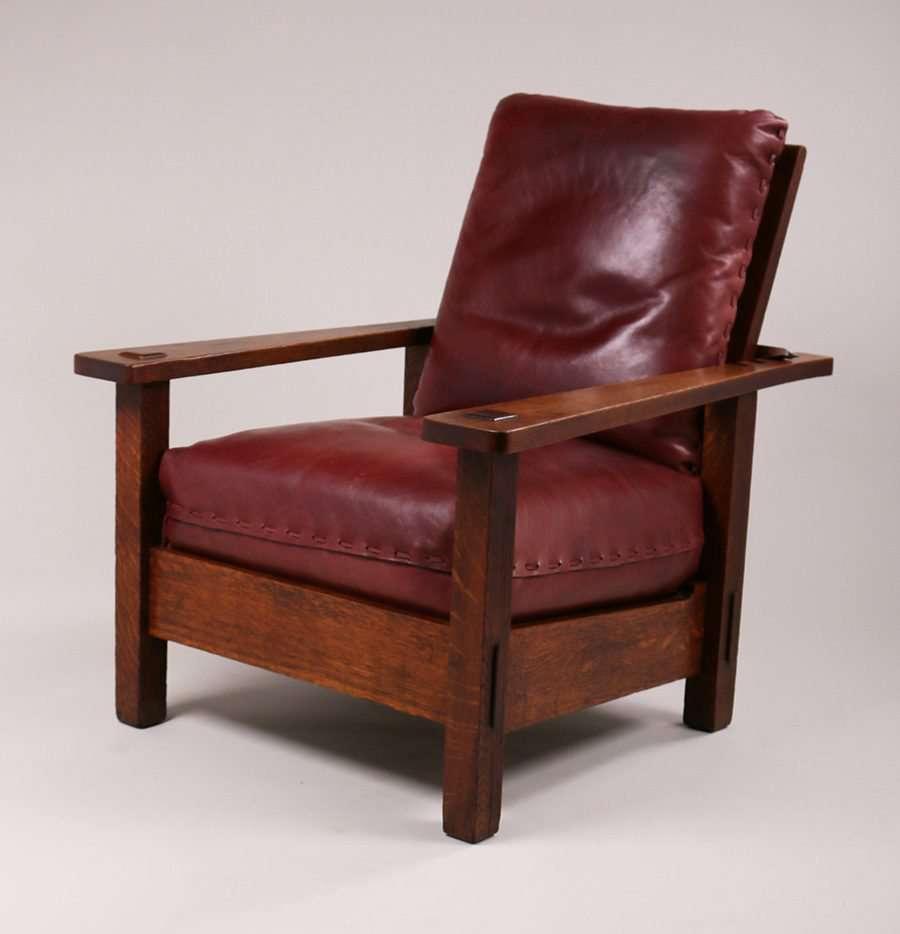 Stickley Brothers Large Morris Chair | California ...  |Morris California Furniture