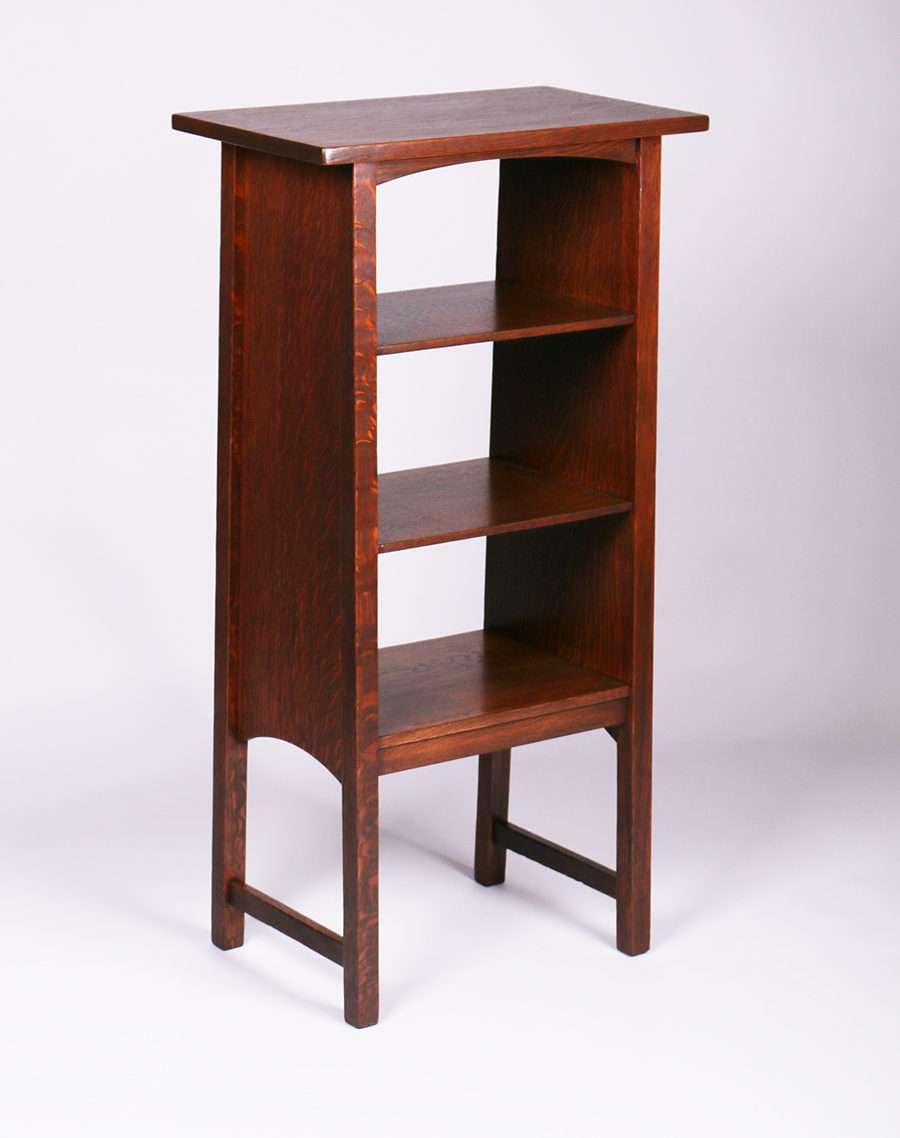 Gustav Stickley Magazine Stand #72 Designed By Harvey Ellis