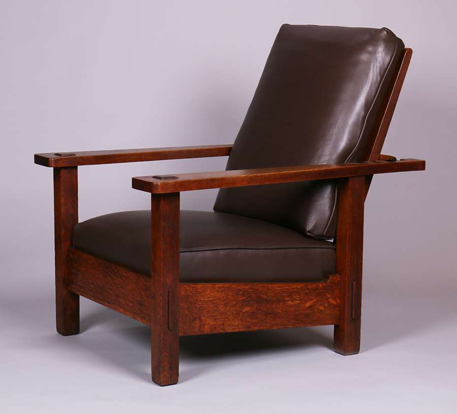Mary Morris Chair Aerobics: Stickley Brothers Morris Chair