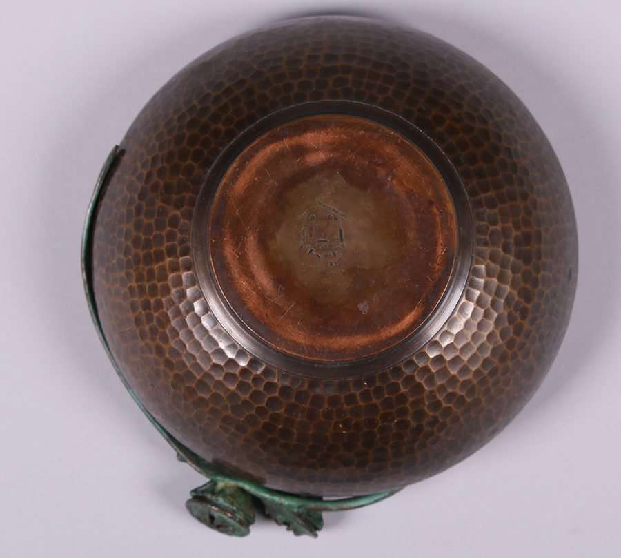 Old Mission Kopper Kraft Eucalyptus Bowl California Historical Design