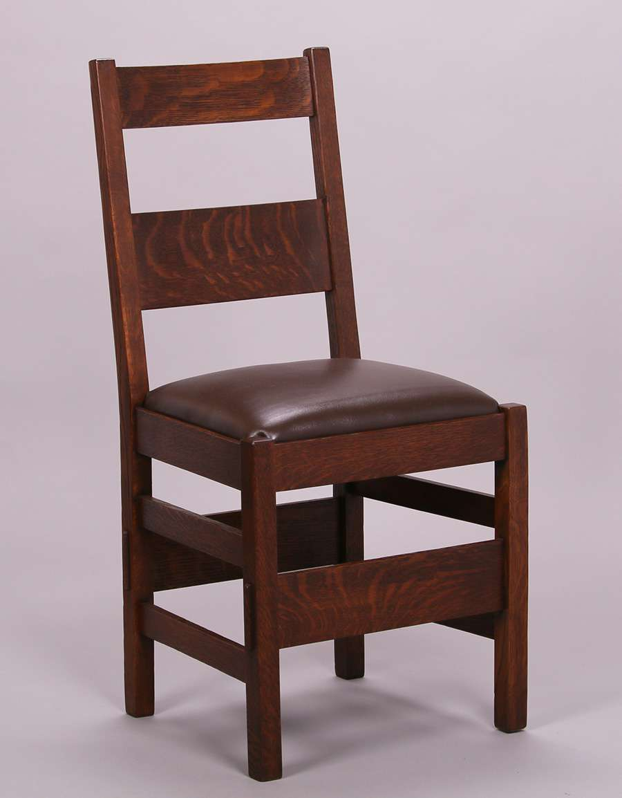 Stickley Dining Room Furniture: Set Of 6 Stickley Brothers Dining Chairs