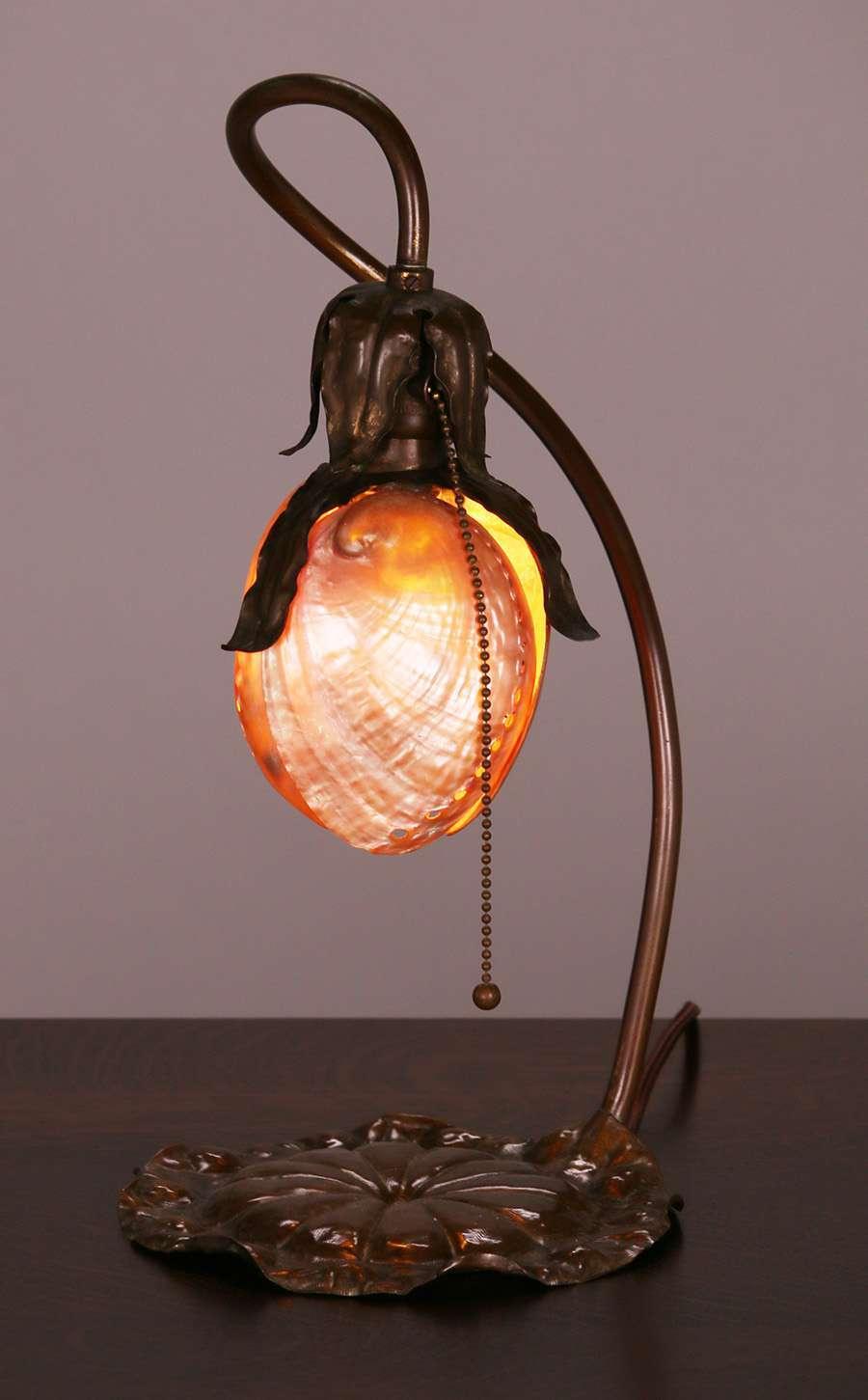 Extremely Rare Charles Frederick Eaton Lamp California