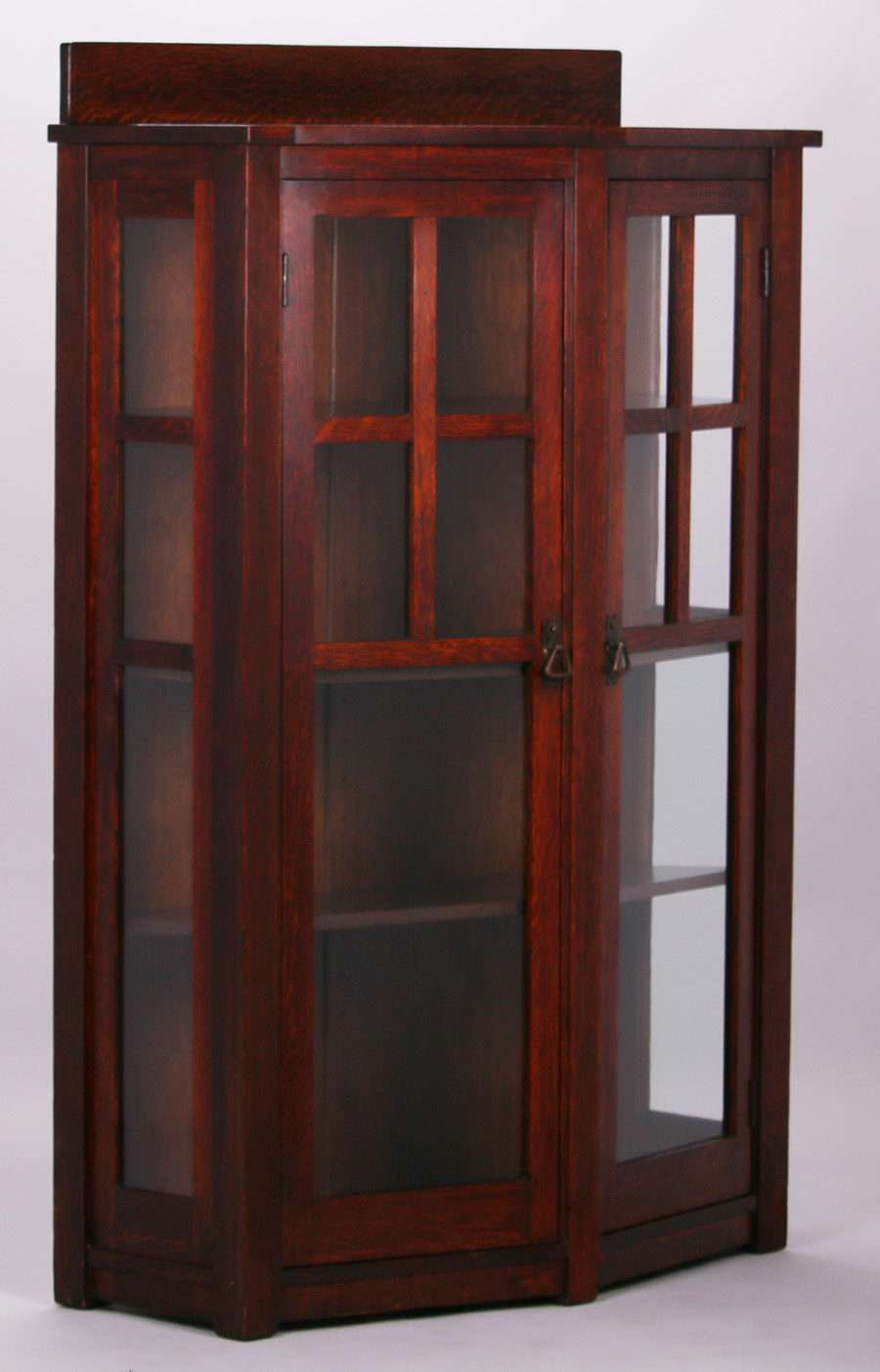 Extremely Rare Limbert Trapezoidal Shaped Two Door China