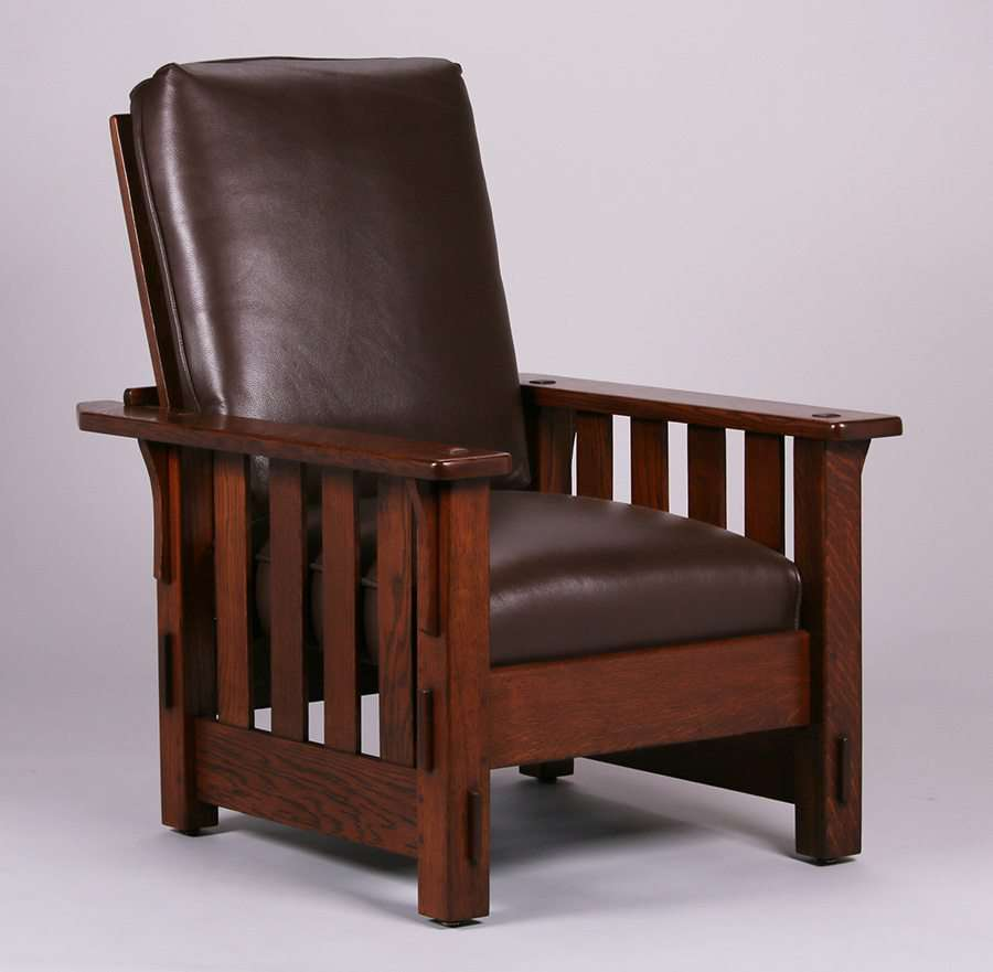 Mary Morris Chair Aerobics: JM Young Furniture Co Slatted Morris Chair
