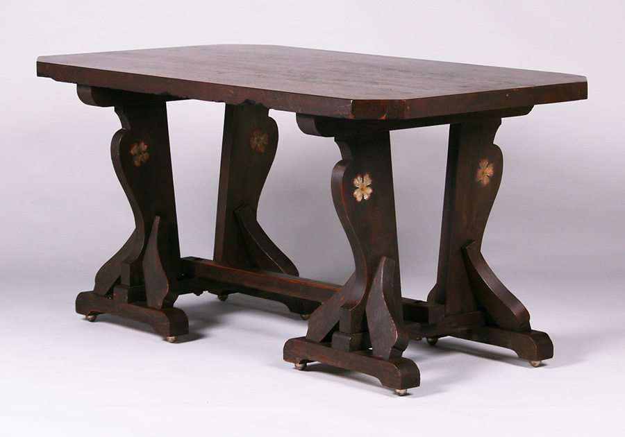 Incroyable California Arts U0026 Crafts Redwood Dining Table C1915 1920