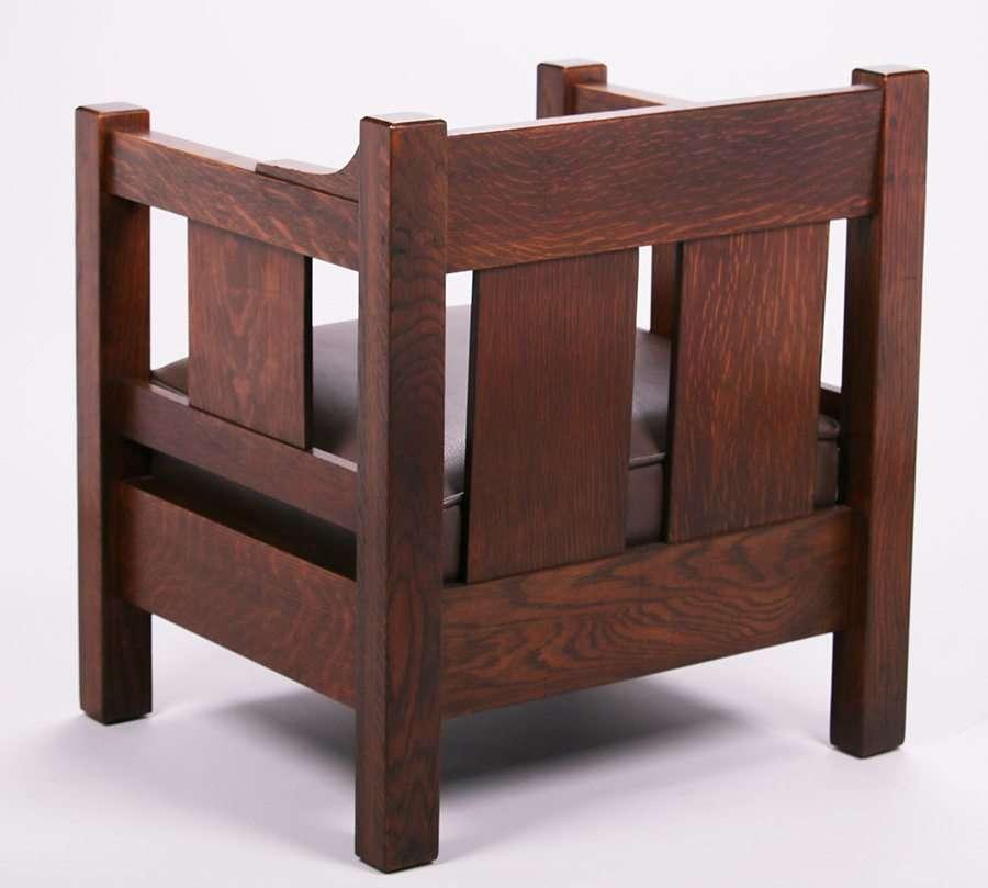 Lifetime Furniture Co Massive Cube Chair California Historical Design