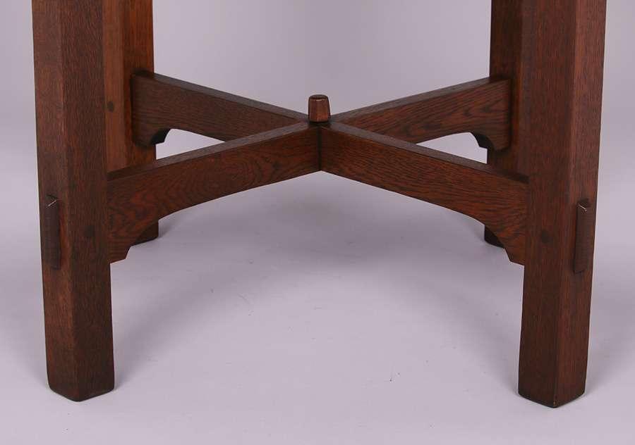 Gustav Stickley 30 Quot D Lamp Table C1904 1907 California