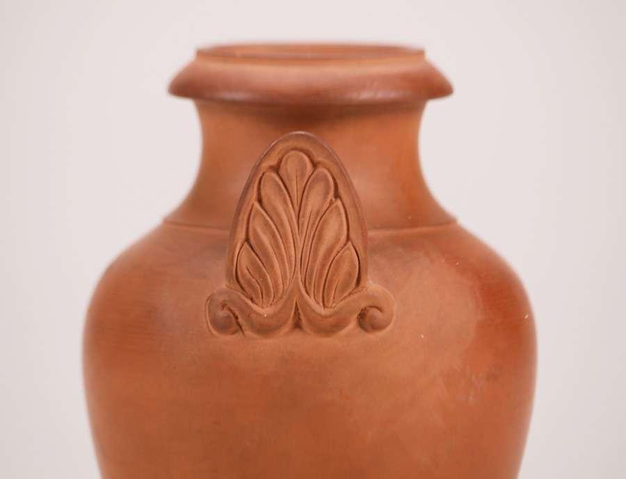 Early Robertson Ckaw Bisque Vase California Historical Design