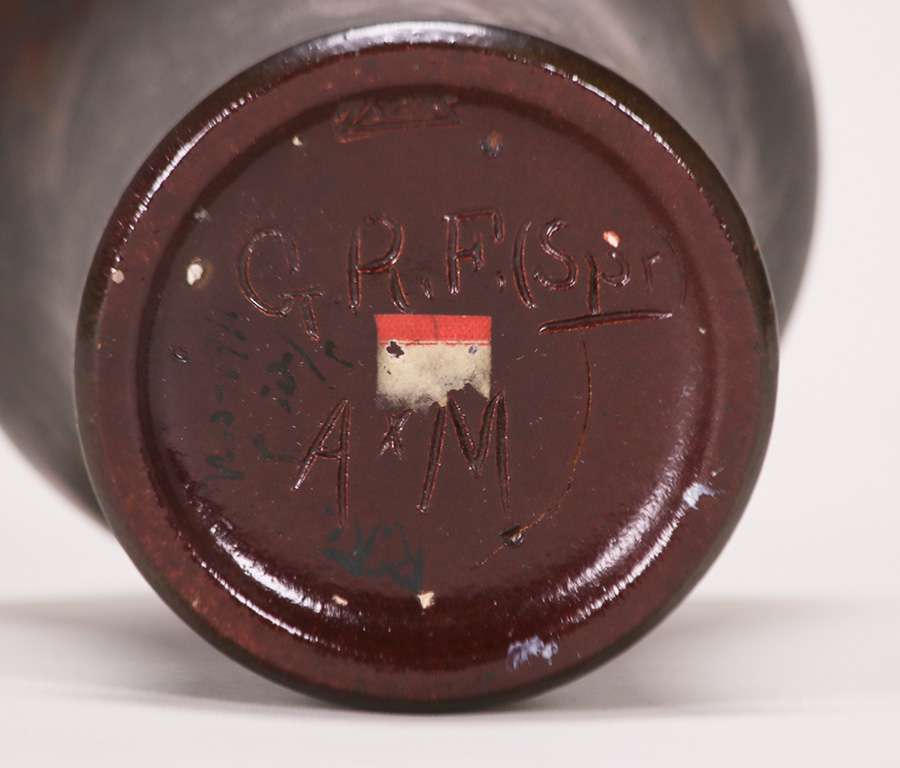 Zark Pottery Vase St Louis C1907 1910 California