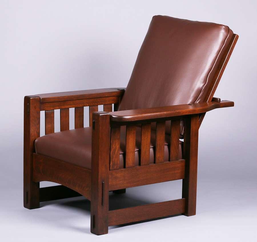 Mary Morris Chair Aerobics: Harden Furniture Co Slatted Morris Chair