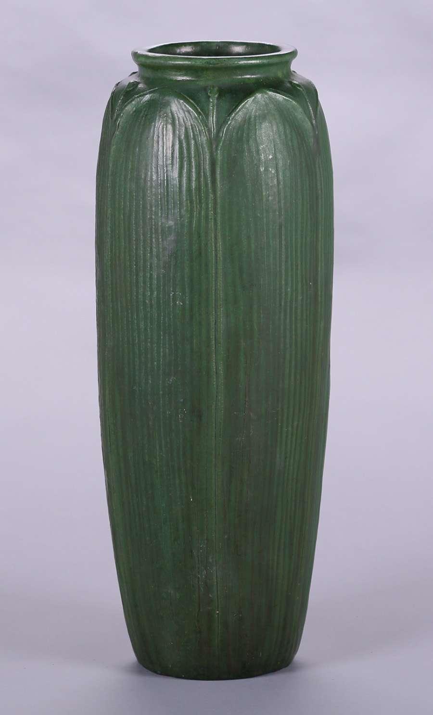 Wheatley Pottery 19 Quot H Matte Green Floor Vase California Historical Design