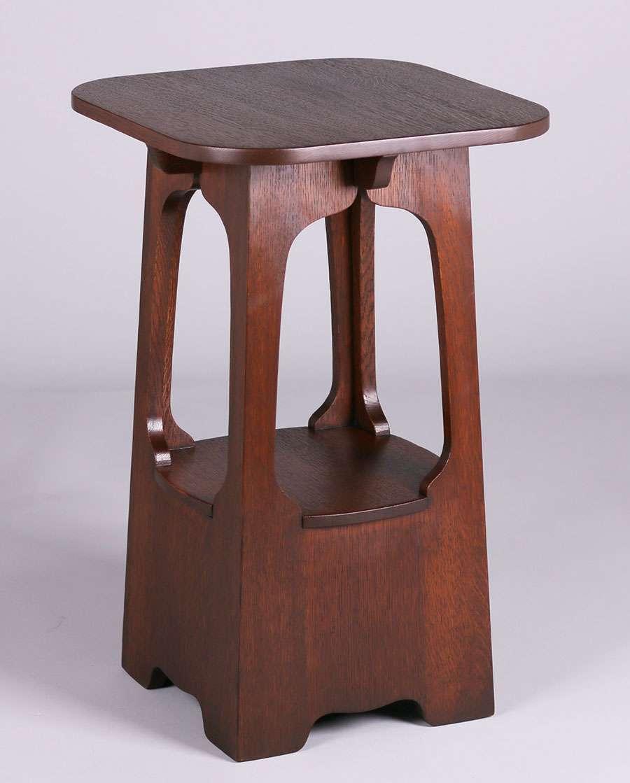 Lot 132 Brooks Furniture Co Pagoda 18 Table C1910