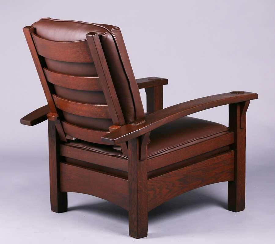 Gustav Stickley Bowarm Morris Chair C1907 1910
