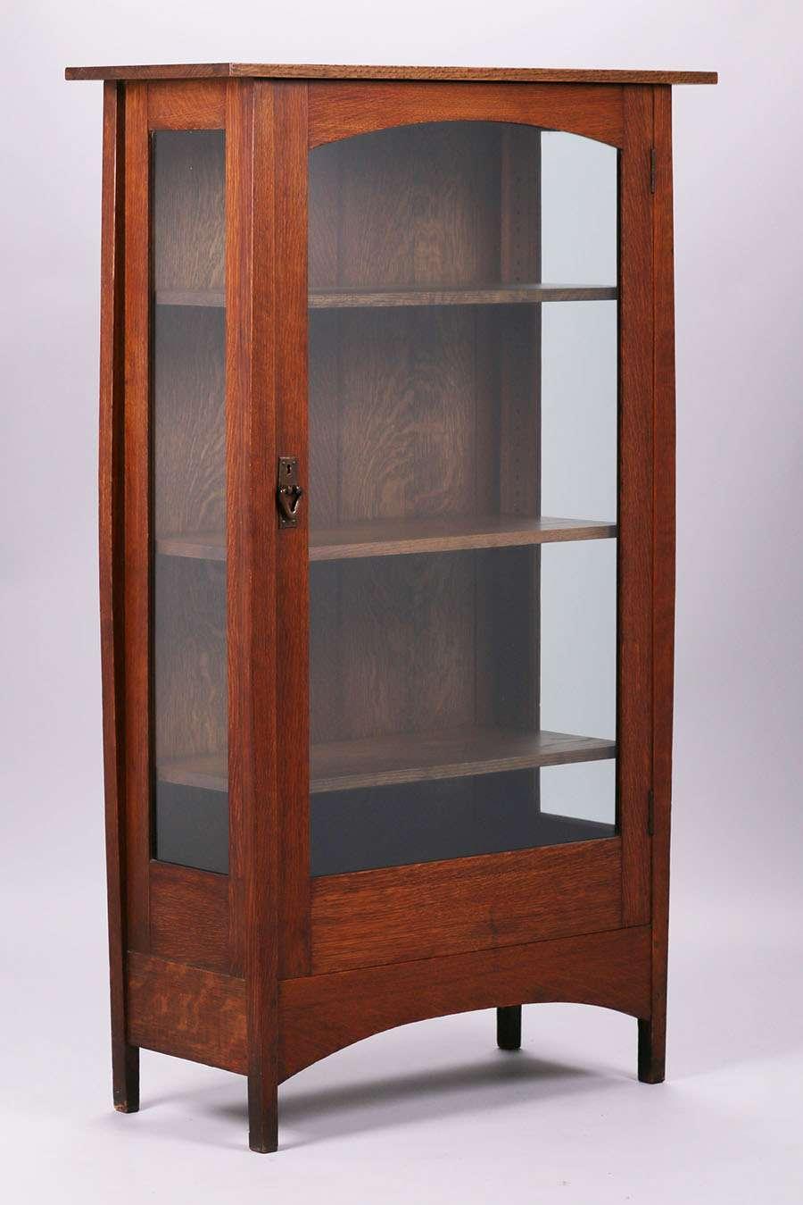 Delicieux Gustav Stickley   Harvey Ellis China Cabinet | California Historical Design
