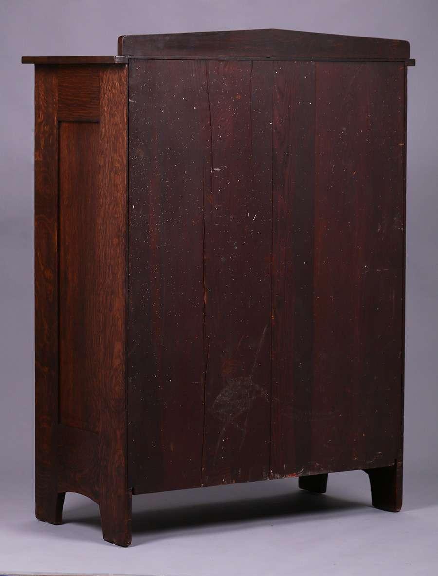 Tall L Amp Jg Stickley Nine Drawer Dresser California Historical Design