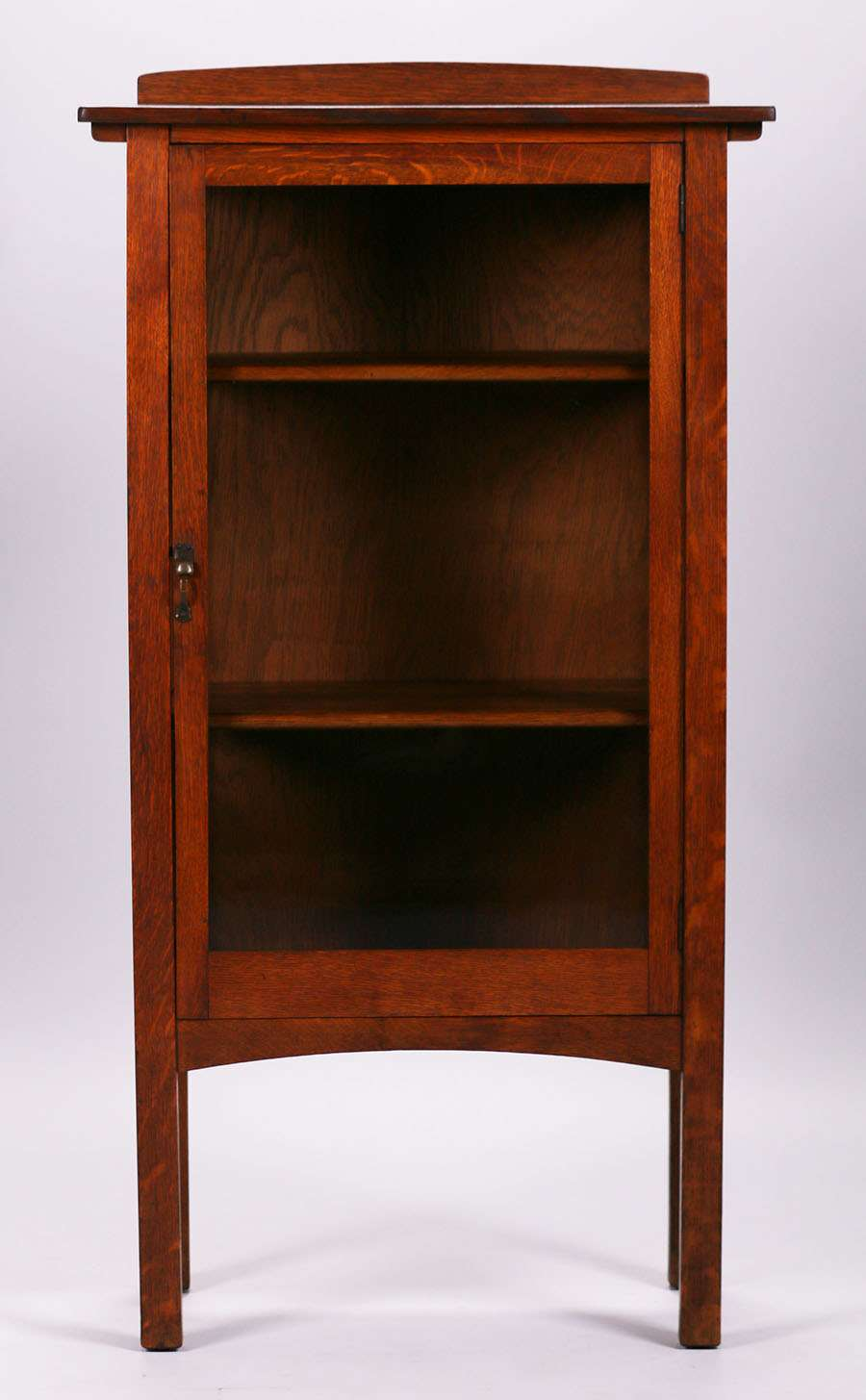 Narrow Limbert China Cabinet California Historical Design