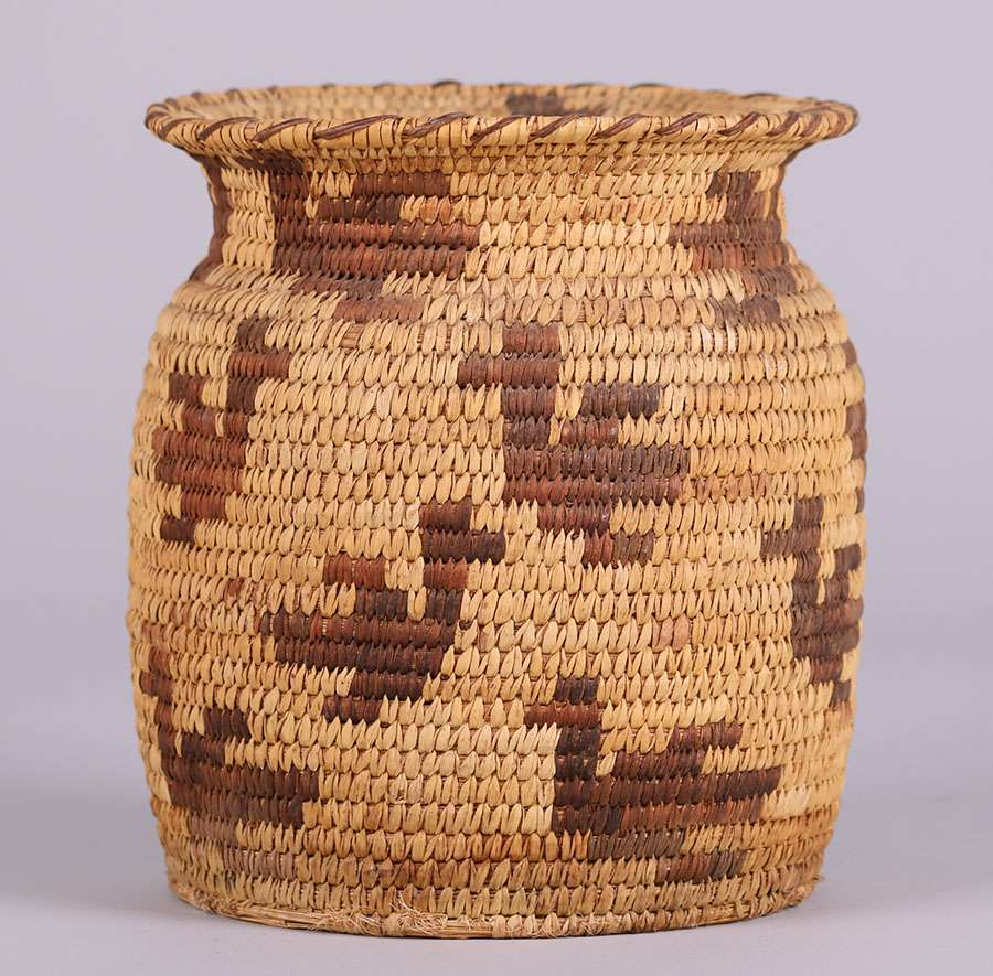 Native American Baskets Pima Apache Amp Papago Tribes Arizona California Historical Design