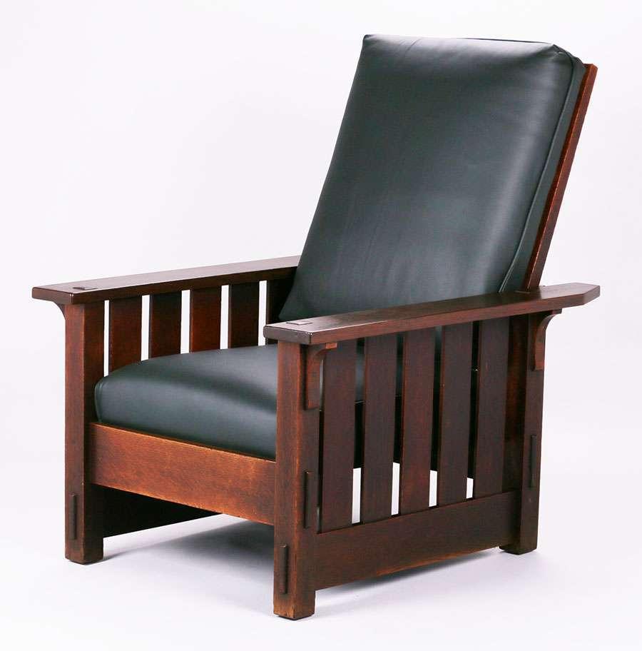 Mary Morris Chair Aerobics: Gustav Stickley #332 Morris Chair C1912-1915