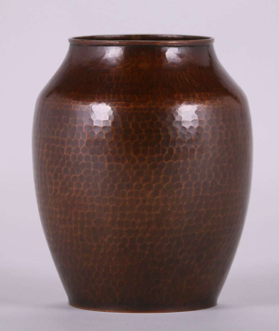 Dirk van erp hammered copper vase c1910 california historical design reviewsmspy