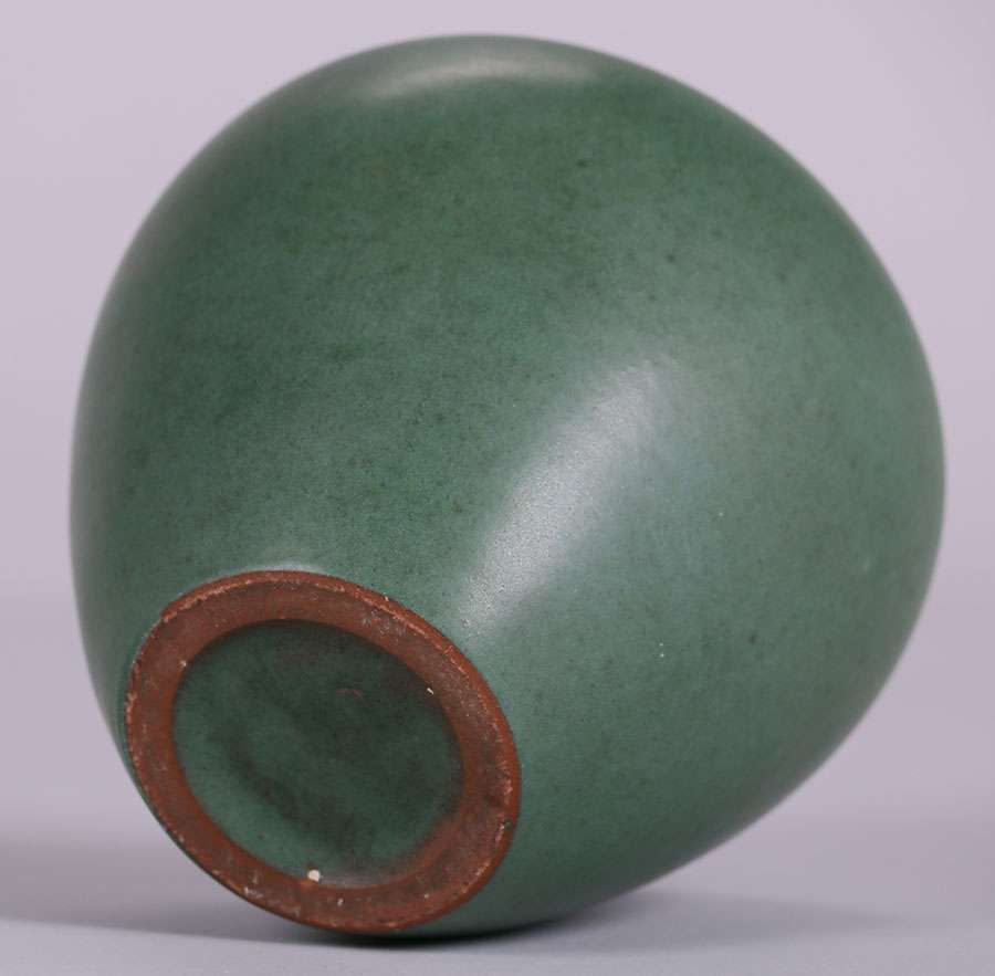 Marblehead Matte Green Vases California Historical Design