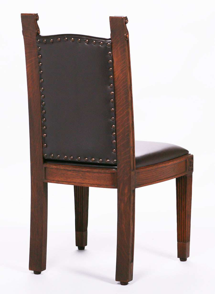 Set of 6 Mathews Furniture Shop Dining Chairs c1907-1918 ...