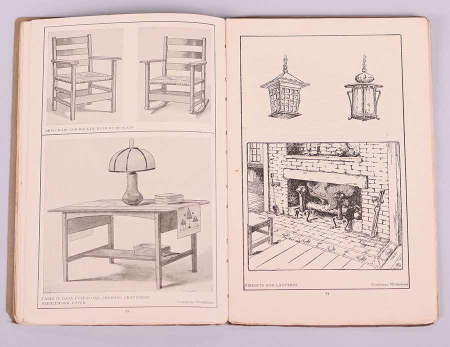 Original Gustav Stickley Catalog 1904 California