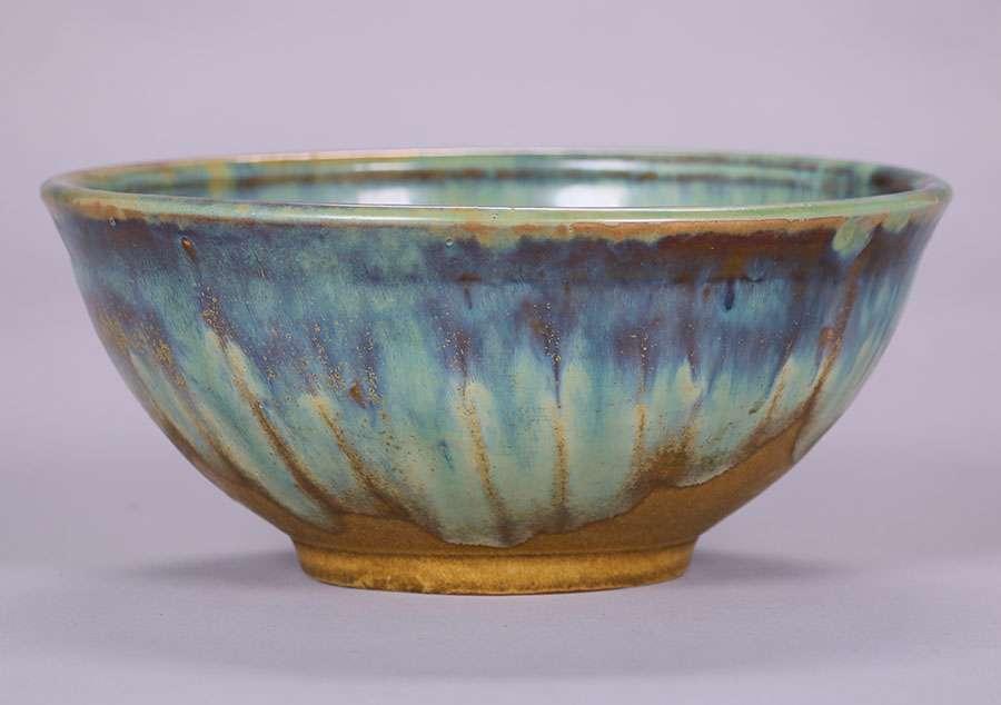 Fulper Pottery Fruit Bowl California Historical Design