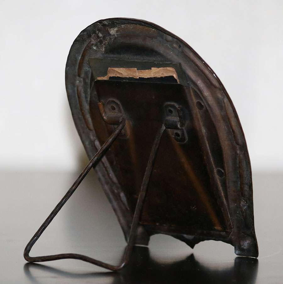 Arts & Crafts Hammered Copper Horseshoe-Shaped Picture Frame c1910 ...