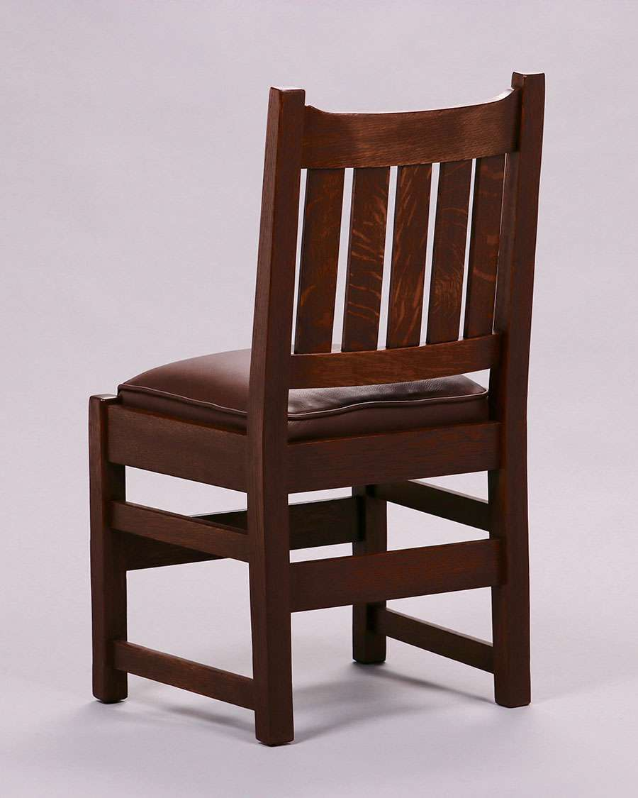 Stickley Dining Room Furniture: Set Of 6 L&JG Stickley U-Back Dining Chairs