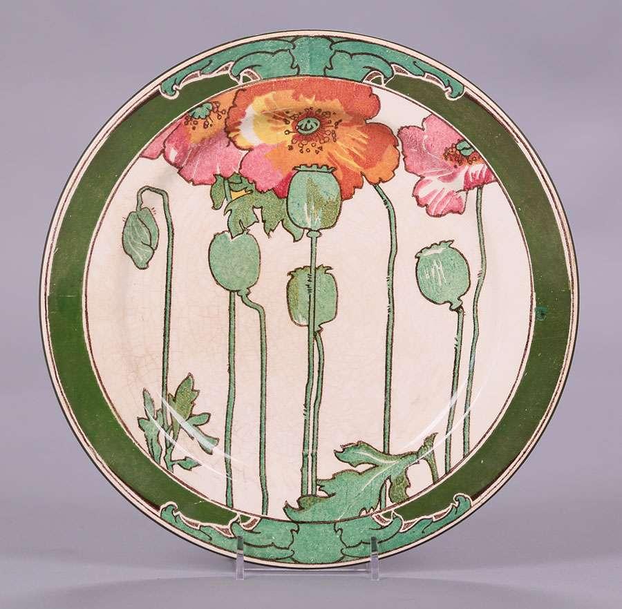 Royal Doulton 10.5\ d Poppy Plate & Royal Doulton Archives | California Historical Design
