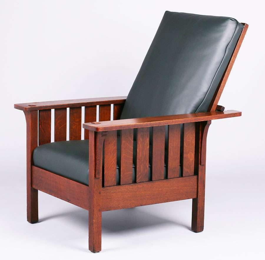 L Amp Jg Stickley 471 Slatted Morris Chair California