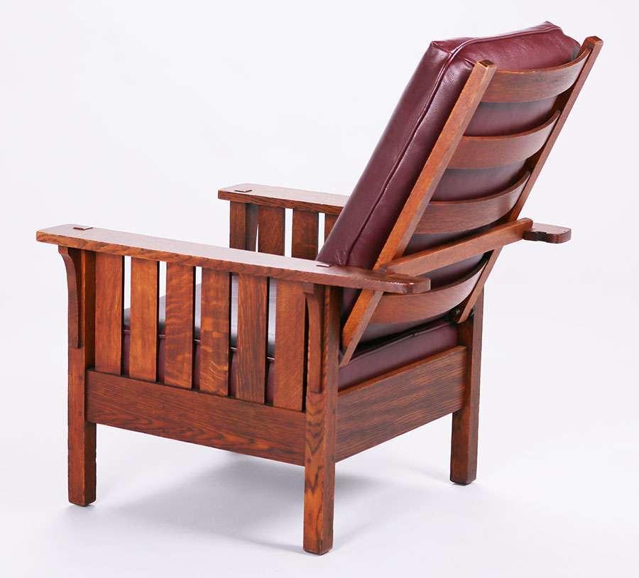 Mary Morris Chair Aerobics: L&JG Stickley #471 Morris Chair