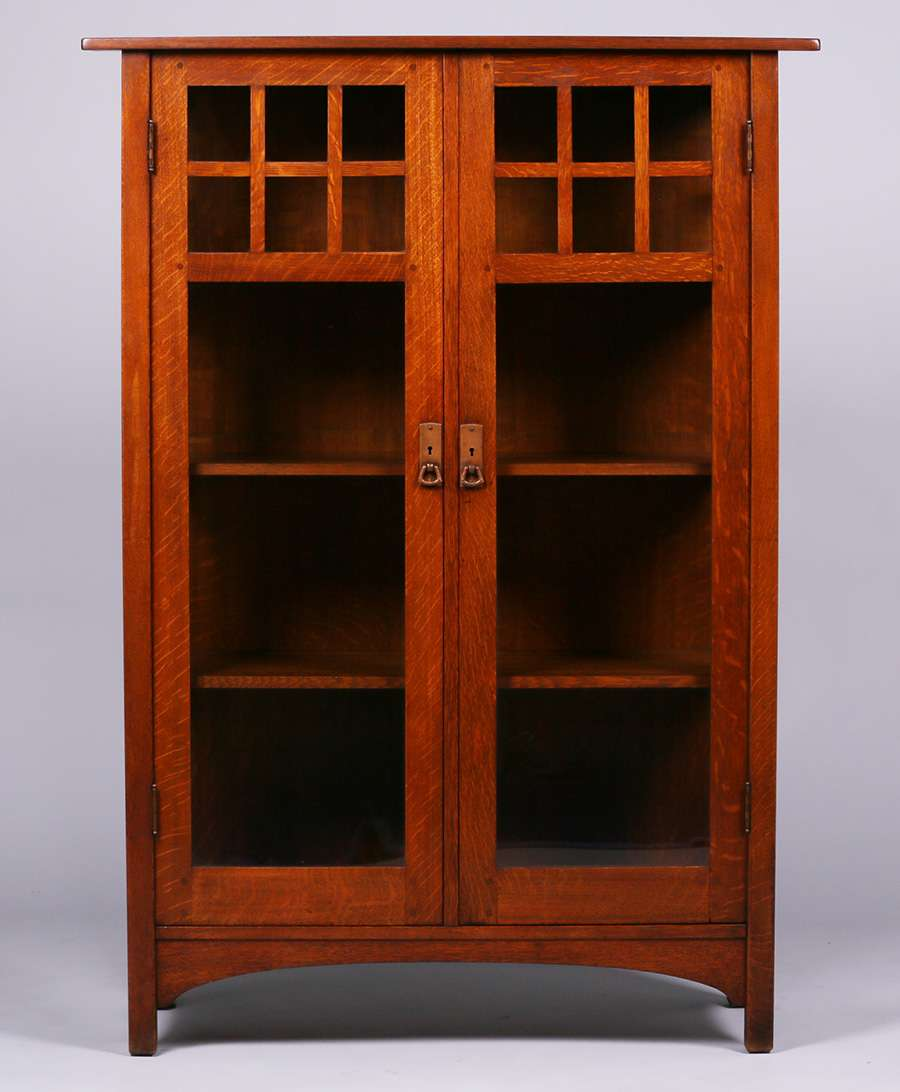 L Amp Jg Stickley Two Door China Cabinet California