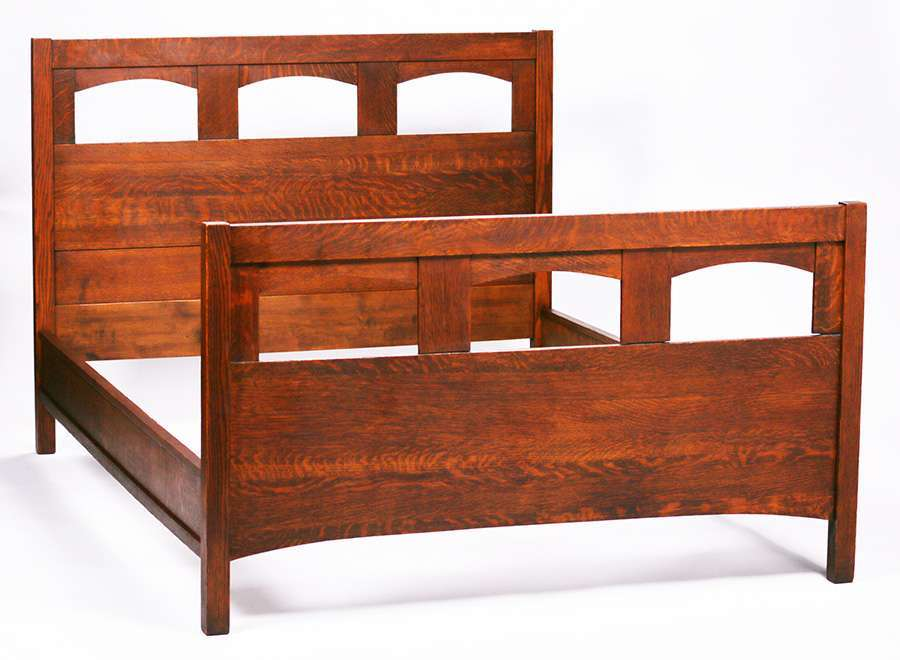 Northern Furniture Co Full Size Double Bed C1910 | California Historical  Design