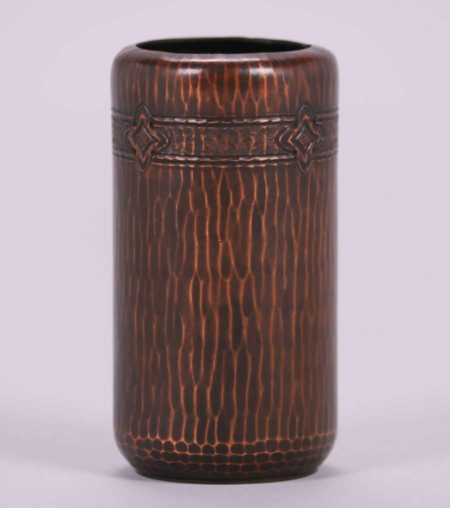 Roycroft hammered copper vase california historical design reviewsmspy