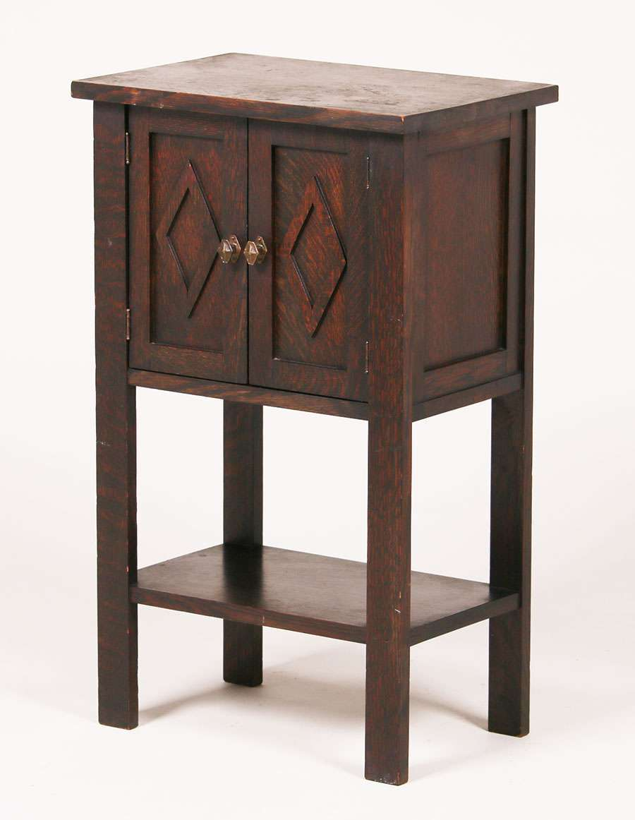Joseph Mchugh Small Two Door Cabinet California Historical Design